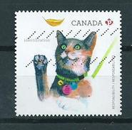 2015 Canada Cats,katten Used/gebruikt/oblitere