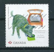 2015 Canada Dogs,chiens Used/gebruikt/oblitere