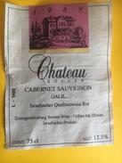 2237 - Israel Château Golden 1989 Cabernet Sauvignon Galil - Etiquettes