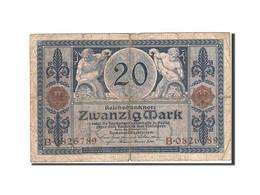 Allemagne, 20 Mark, 1915-1919, KM:63, 1915-11-04, B - [ 2] 1871-1918 : Empire Allemand