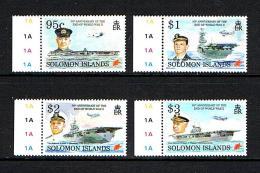 Solomon Islands  1995 Sc # 799 / 802  MNH **  50th Anniversary End Of WW II