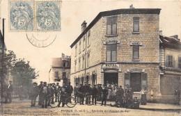 CPA 95 PERSAN RENTREE DE L USINE DE FER 1906 - Persan