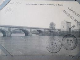 VARREDDES . PONT DE LA MARNE . LE MOULIN . CACHET - Other Municipalities