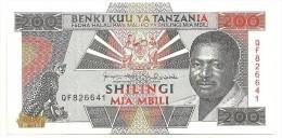Tanzania 200 Shilling 1993 UNC - Tanzania