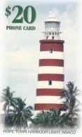 Bahamas - Hope Town Harbour Lighthouse - BHS-C-18B