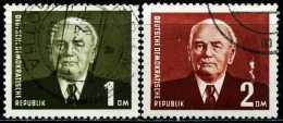 DDR - Michel 342 / 343 - OO Gestempelt (B) - Wilhelm Pieck III