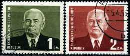 DDR - Michel 342 / 343 - OO Gestempelt (C) - Wilhelm Pieck III