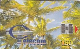 Cape Verde - Palm Trees - Coqueiros II - CPV-17 - Cape Verde