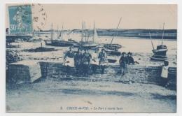 85 VENDEE - CROIX DE VIE Le Port à Marée Basse - Saint Gilles Croix De Vie