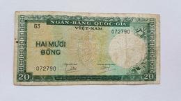 VIETNAM 20 DONG - Vietnam