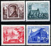 A11-39-7) DDR Michel 358 / 361 - * Ungebraucht - 700 Jahre Stadt Frankfurt A.d. Oder, Kirche