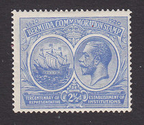 Bermuda, Scott #68, Mint Hinged, Seal Of The Colony And King George V, Issued 1920 - Bermudes