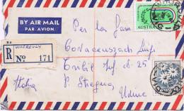 Raccomandata Air Mail -  Whorouly-> Tribil / Stregna (UD ) - Timbro Di Arrivo 12/1962