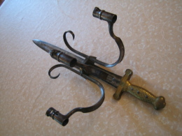 Chandelier D'Arsenal - Armi Bianche