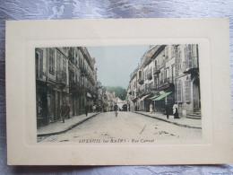 LUXEUIL LES BAINS . RUE CARNOT - Luxeuil Les Bains