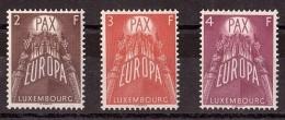 Europa - 1957 - Luxembourg - N° 531 à 533 - Neufs ** - Cote 150 - Europa-CEPT