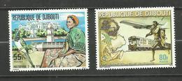 Djibouti N°502, 503 Neufs** Cote 6.90 Euros