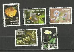 Djibouti N°504 à 508 Neufs** Cote 3.15 Euros - Yibuti (1977-...)