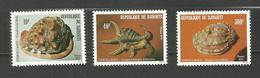 Djibouti N°512 à 514 Neufs** Cote 8.80 Euros