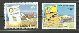 Djibouti N°515, 516 Neufs** Cote 4.45 Euros