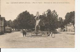 LACANAU MEDOC   Place De L'eglise ;Monument Aux Morts