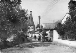 CPSM - RIBEAUVILLE (68) - Vue Du Bourg Vers Les Trois Châteaux En 1956