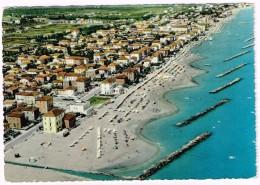 R3455 Rimini - Viserba - Panorama Aereo Vista Aerea Aerial View Vue Aerienne / Viaggiata 1959