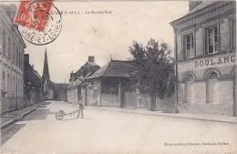 CPA RARE - Dept 37- CLERE LES PINS - LA GRANDE RUE