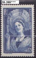 FRANCE ANNEE 1938 N° 388 NEUF***