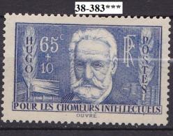 FRANCE ANNEE 1938 N° 383 NEUF***