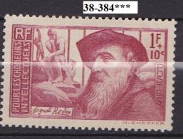 FRANCE ANNEE 1938 N° 384 NEUF*** - Unused Stamps