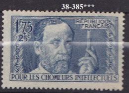 FRANCE ANNEE 1938 N° 385 NEUF*** - Nuovi