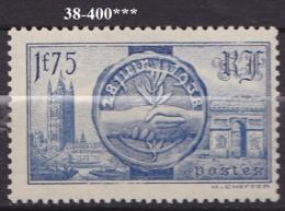 FRANCE ANNEE 1938 N° 400 NEUF***