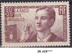 FRANCE ANNEE 1938 N° 418 NEUF***