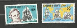 Djibouti N°525, 526 Neufs** Cote 3.90 Euros