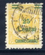 MEMEL (Lithuanian Occupation) 1923 (Dec.) 25 C. On 20 Mk. Used.  Michel 215 I