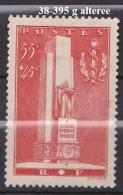 FRANCE ANNEE 1938 N° 395 NEUF Charniere Ou Trace