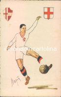 E734 - Cartolina Calcio - Illustratore Magia'- Padova