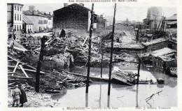 Cpa MONTAUBAN , Inondations Du Midi 1930  (sud-ouest);  Quartier De La Gare  (52.68)
