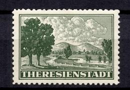 Allemagne/Reich Timbre De Theresienstadt Neuf ** MNH. Authentique, Signé Gilbert. TB. A Saisir!
