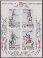 France 1989 Revolution Francaise M/s ** Mnh (33118)