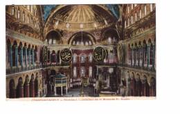 Turquie Constantinople Stamboul Interieur De La Mosquée Sainte Sophie Correspondance 1921