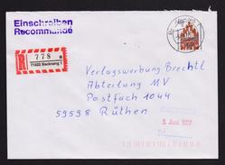 BRD - R-Brief, Einschreiben Mit EF MiNr. 1623 O / Used, 71522 BACKNANG 1