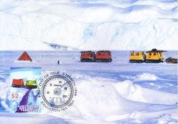 AUSTRALIA ANTARCTIC TERRITORY - 05-03-1998 4V MAX CARDS
