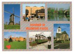 11784-LE-59-Souvenir De Villeneuve D'Ascq----------vues Multples Diverses - Villeneuve D'Ascq