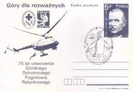 POLAND - 1985 ANTARCTIC EXPEDITION - PENGUIN CANCELLATION, HELICOPER - 1944-.... Republic