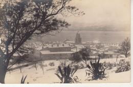 Carte Photo  - Village Sous La Neige Ou?? - Fotografia