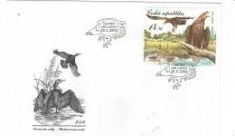 Czech Republic  2008 - Eagle,  Protected Landscape Area Trebonsko,  FDC