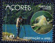 Portugal Açores 2016 Oblitéré Rond Used Observation Des Oiseaux