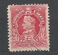 CHILE      1901 Christopher Columbus Head In New Drawing Used Weak Paper